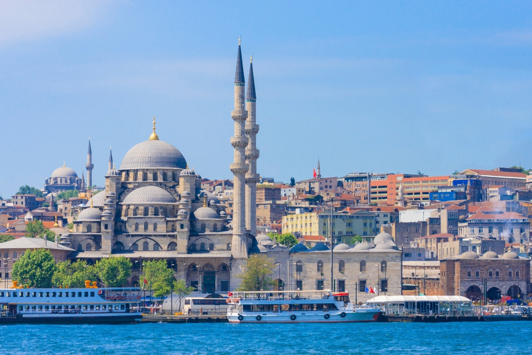 매력적인 도시 이스탄불