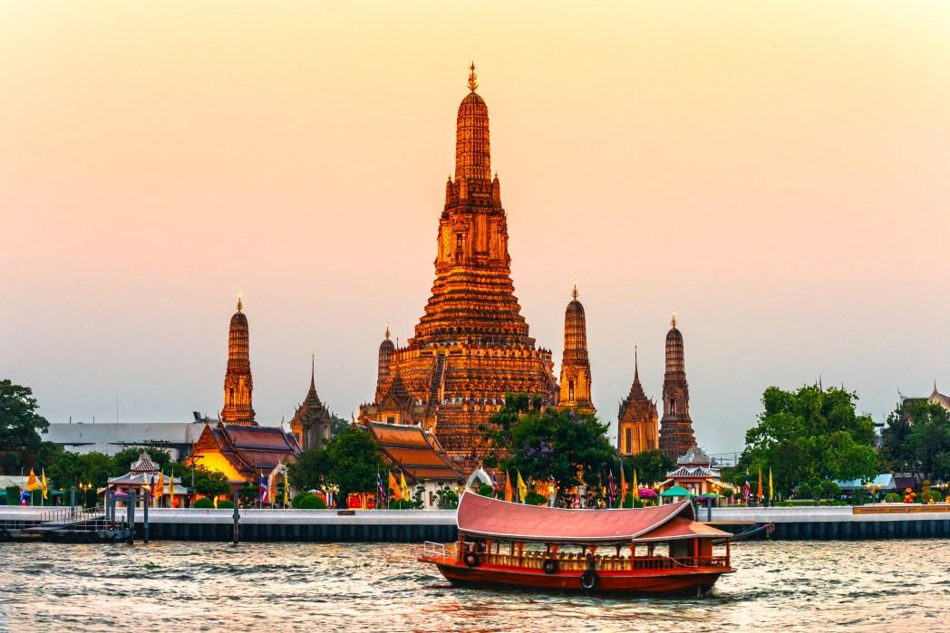 방콕의 아름다운 사원